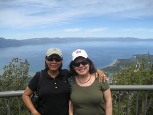 Sylvia & Julia (at Lake Tahoe, June 2015)